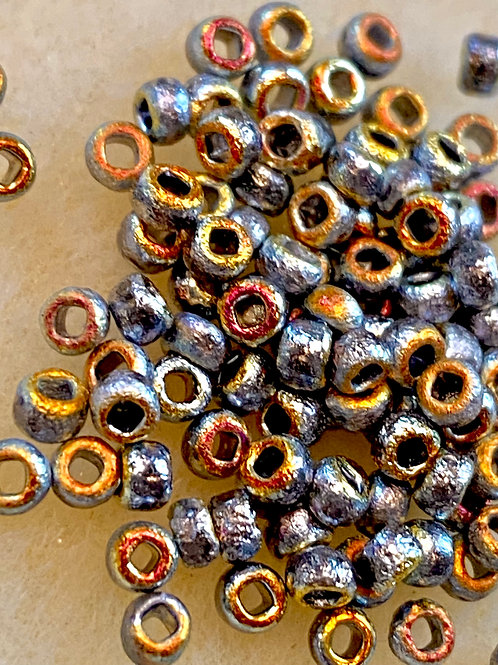 8/0 Etched Crystal Full Marea Seed Beads