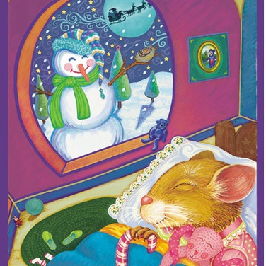 Book Illustration - The Night Before Christmas