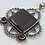 Thumbnail: Mookaite Jasper & Carnelian Pendant with Bzail