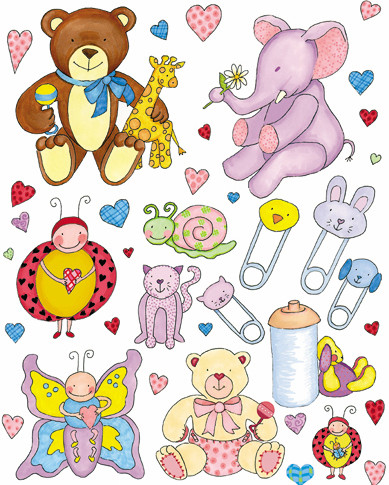 Stickers - Baby Theme - Marke