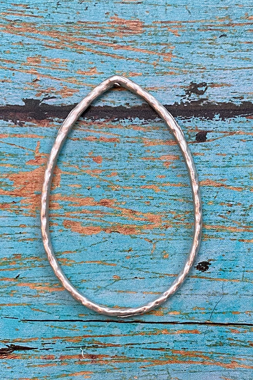 Large Textured Oval