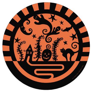 Paper Plate - Halloween - Marker