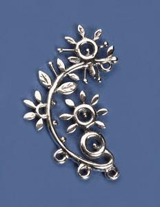 Chandelier Earring, Sterling Silver