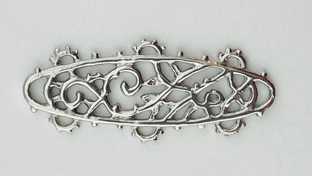 Sterling Silver Connector
