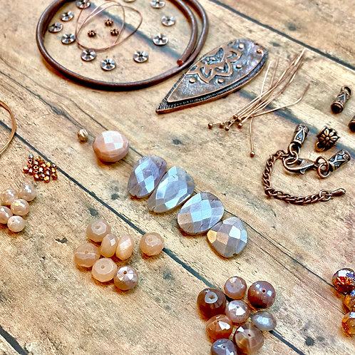Summer's Moonlight Necklace Kit