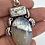 Thumbnail: Dendrite Opal& Howlite Pendant