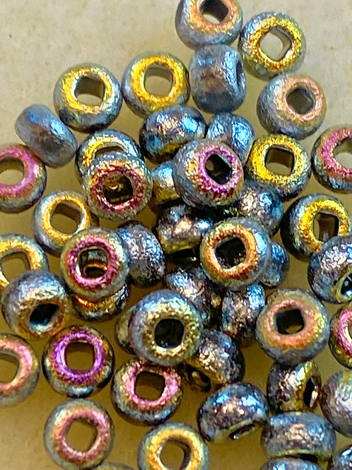 6/0 Etched Crystal Full Marea Seed Beads