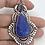 Thumbnail: Gorgeous Blue Sapphire & Amethyst Pendant w Bail