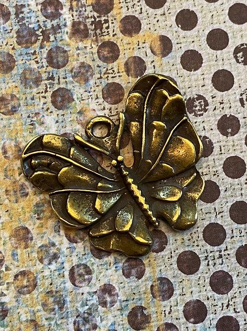 Bronze Butterfly Pendant