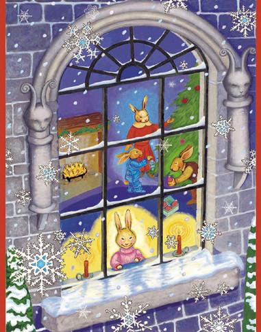 Christmas at Bunny Mansion