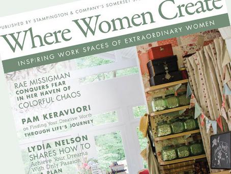 Where Women Create Feature