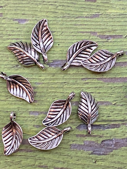 Hill Tribe Silver Leaf (2 pcs)