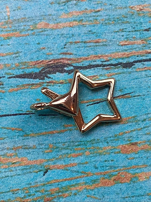 Gold Star Lobster Clasp