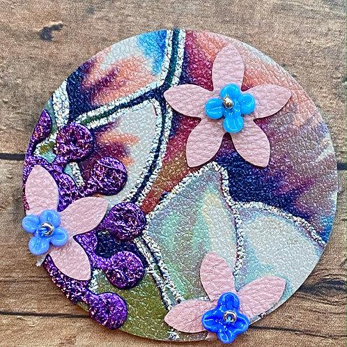 Floral Leather Pendant Kit