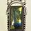 Thumbnail: Rectangular Frame Set Labradorite Necklace Focal