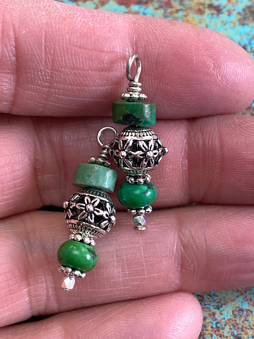 Pre-made Turquoise Dangle