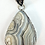 Thumbnail: Pale Crazy Lace Agate in High Detailed Bezel w Bail