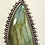 Thumbnail: Bali Bezel set Labradorite w Patterned Bail
