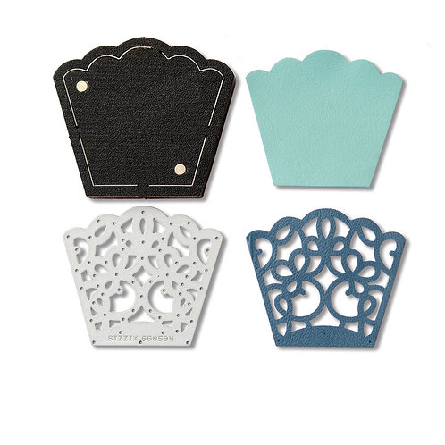 ITEM 660594 |  Movers & Shaper Magnetic Die w/Thinlit - Lace Section Pendant