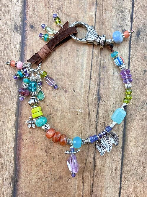 Breckenridge Boho Gemstone Bracelet