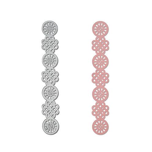 ITEM 661511 - Celtic Knots Bracelet Die - Thinlet