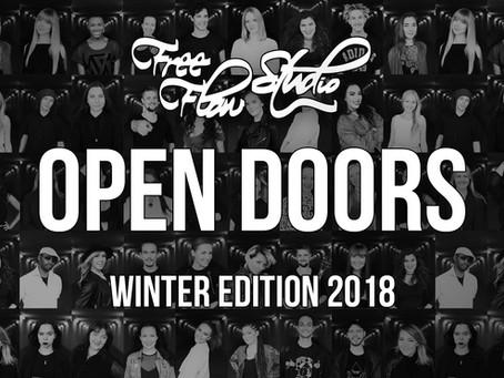 OPEN DOORS // Winter Edition 2018