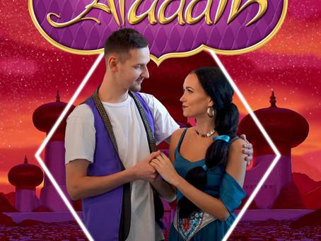 """Tantsuetendus """"Aladdin ja Jasmine"""""""