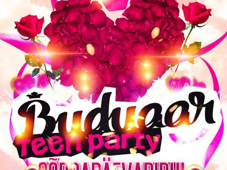 Buduaar Teen Party // Sõbrapäevapidu!