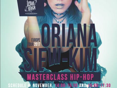 ORIANA SIEW-KIM (THE ROYAL FAMILY) WORKSHOP 04.11.2017