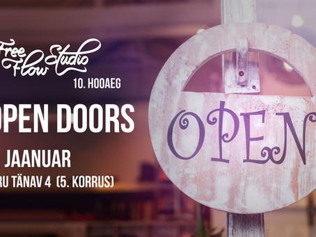 AVATUD UKSED/ OPEN DOORS 2019!
