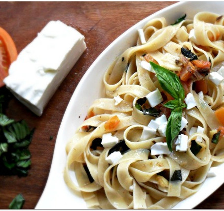 Get Creative with Kesong Puti - Tuyo Pasta!
