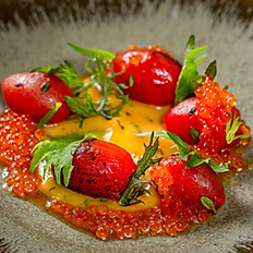 Marinated datterino tomatoes
