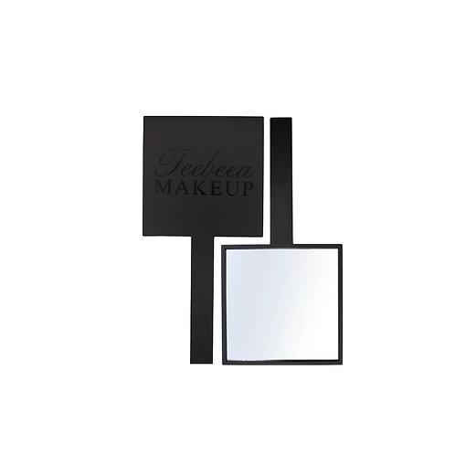 Black Handheld Mirror