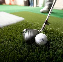 Golfzon ball and club