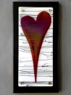 Garnet Red Heart.