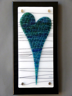 Blue Green Heart. Available.