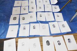 Muriel 30x 1min drawings