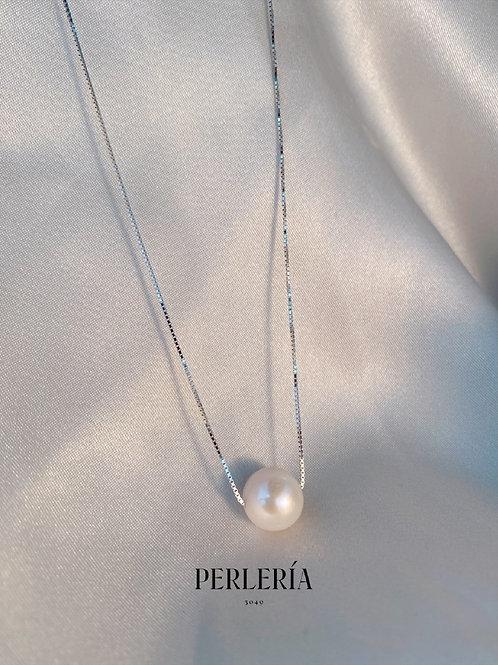 Cadena Plata con perla