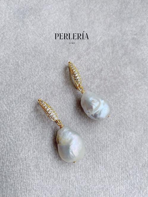 Arete circonia y Perla barroca