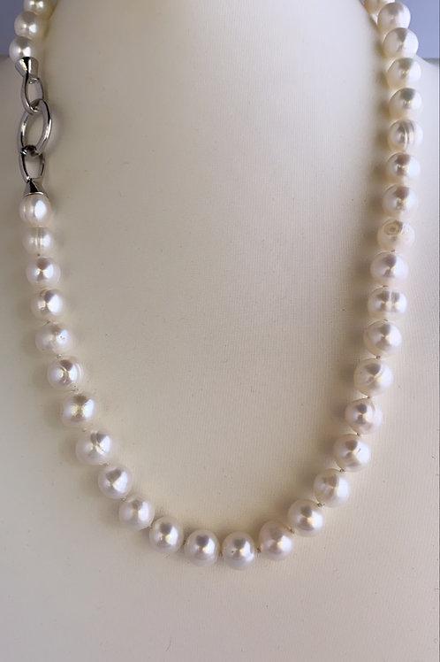 Collar perlas estilo classic