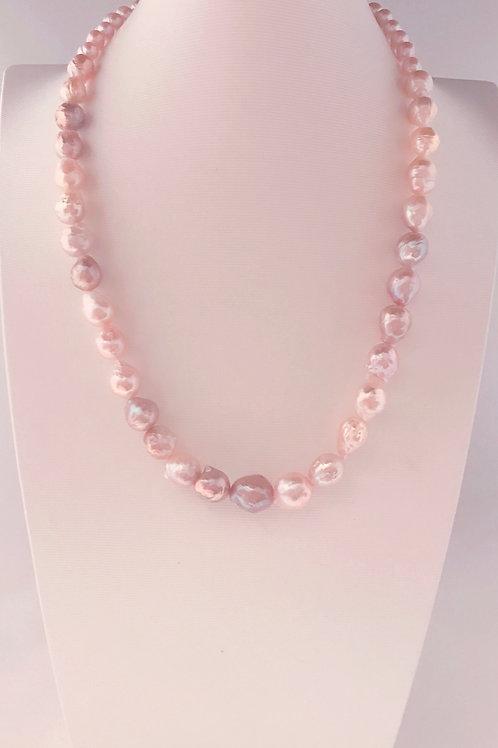 Collar perlas pastel