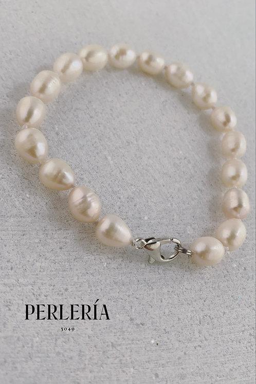 Pulsera perlas cultivadas