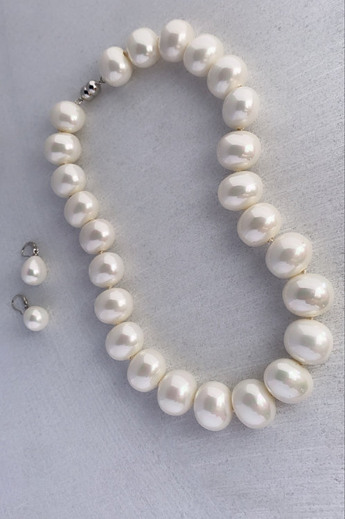 Juego perla aceituna
