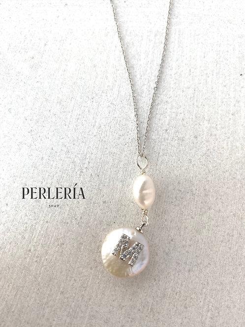 Cadena con perla M