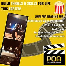 Explainer for PQA Reading Easter Filmmaking for youg people
