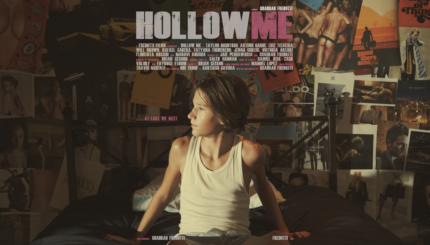 SHAHRAD'S FIRST FILM - HOLLOW ME