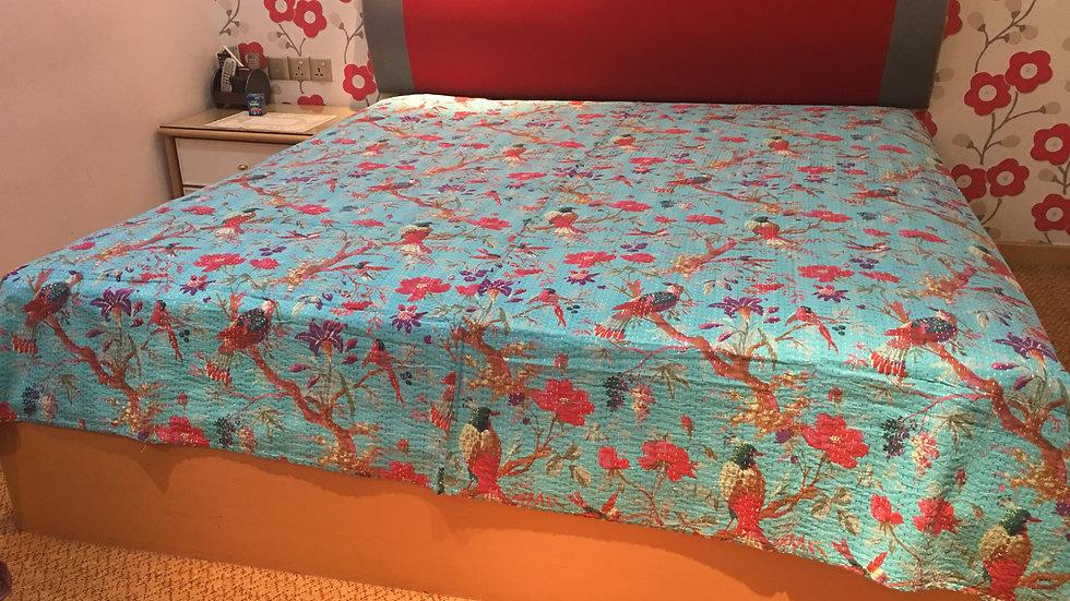 Bird Design Bedspread