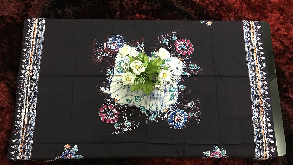 "Batik Tablecloth 45""x 45"""