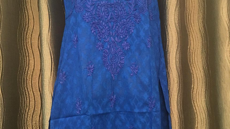 Royal Blue sleeveless tunic