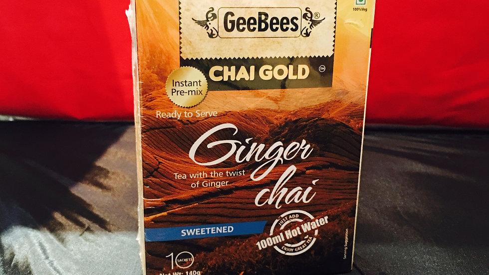 Sweetened Ginger Chai